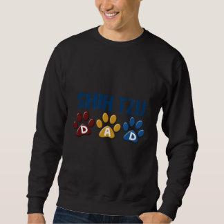 SHIH TZU  Dad Paw Print 1 Sweatshirt