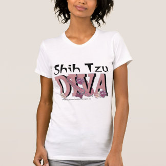 Shih Tzu DIVA Tshirts