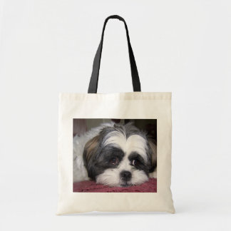 Shih Tzu Dog Budget Tote Bag