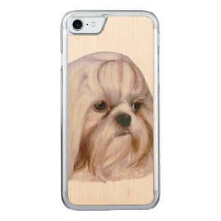 Shih Tzu Dog Carved iPhone 8/7 Case