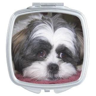 Shih Tzu Dog Compact Mirrors