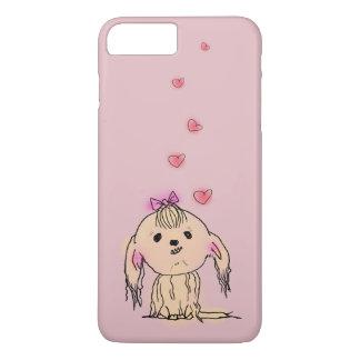 Shih Tzu Dog Cute Illustration iPhone 7 Plus Case