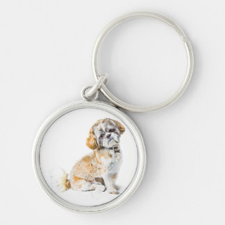 Shih Tzu Dog Key Chain/Keyring Key Ring
