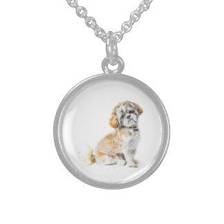 Shih Tzu Dog Necklace
