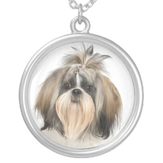 Shih Tzu dog  necklace