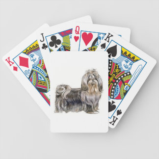 Shih Tzu Dog Playing Cards
