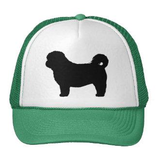 Shih Tzu Dog Silhouette Cap