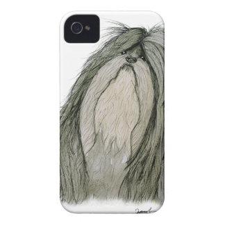 Shih Tzu dog, tony fernandes Case-Mate iPhone 4 Case