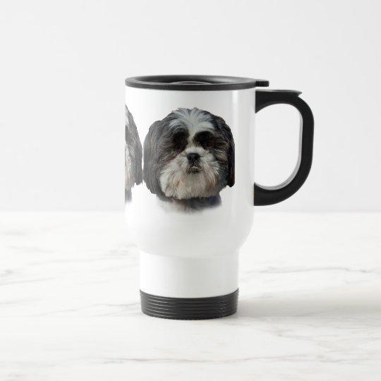 Shih Tzu Dog Travel Mug