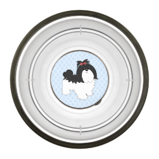 Shih Tzu food/water dish