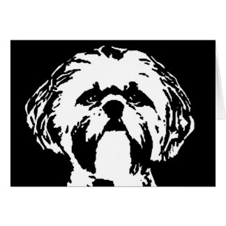 Shih Tzu Gifts - Card