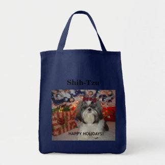 Shih-Tzu - Happy Holiday Tote