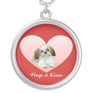 Shih Tzu Heart Necklace