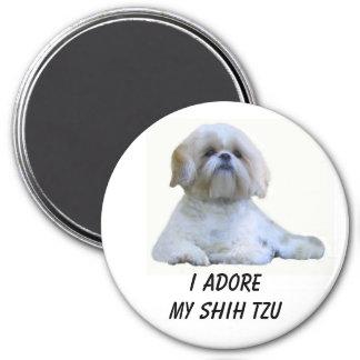 Shih Tzu I Adore Magnet