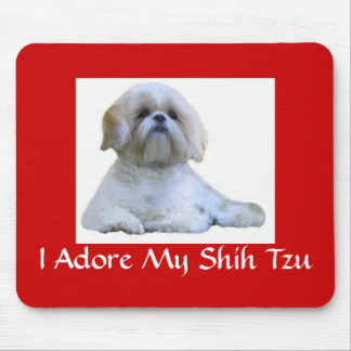 Shih Tzu I Adore Mousepad