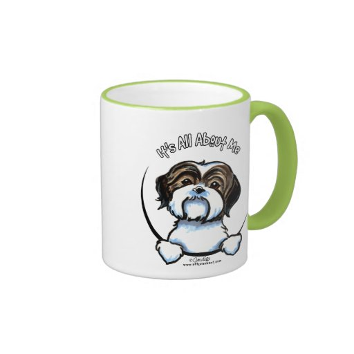 Shih Tzu Its All About Me Coffee Mugs