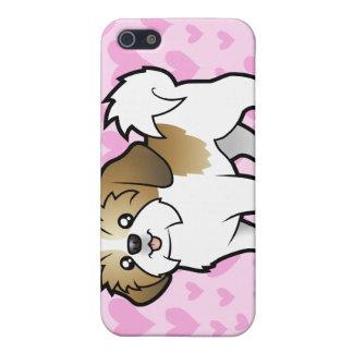 Shih Tzu Love (puppy cut) (add your own pern) Case For iPhone 5/5S