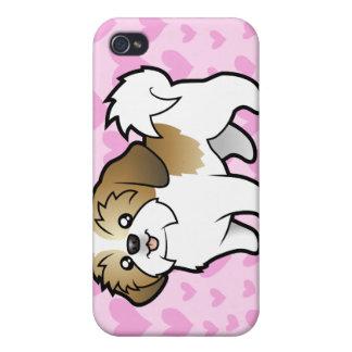 Shih Tzu Love (puppy cut) (add your own pern) iPhone 4 Cases