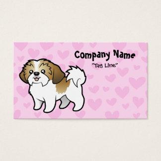 Shih Tzu Love (puppy cut) Business Card