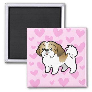 Shih Tzu Love (puppy cut) Magnet