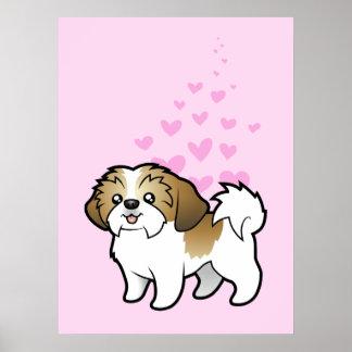 Shih Tzu Love (puppy cut) Poster