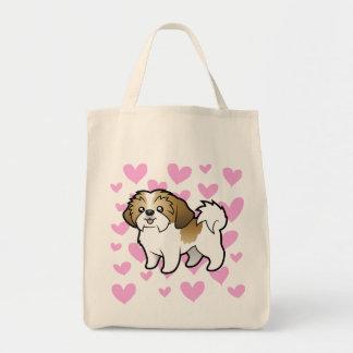 Shih Tzu Love (puppy cut) Tote Bag