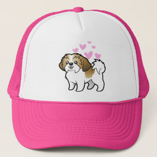 Shih Tzu Love (puppy cut) Trucker Hat