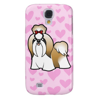 Shih Tzu Love (show cut) (add your own pern) Galaxy S4 Case