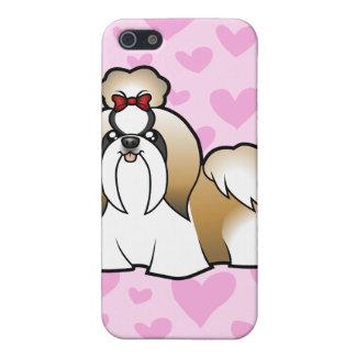 Shih Tzu Love (show cut) (add your own pern) iPhone 5 Cover