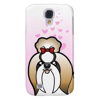 Shih Tzu Love (show cut) Galaxy S4 Case