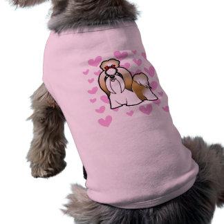 Shih Tzu Love (show cut) Sleeveless Dog Shirt