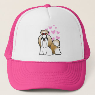 Shih Tzu Love (show cut) Trucker Hat