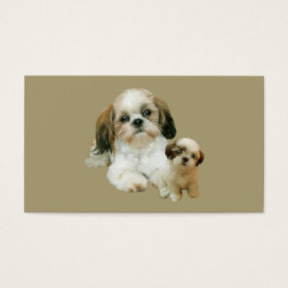 Shih Tzu Lover Business Card