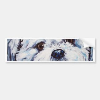Shih Tzu mix Bumper Sticker