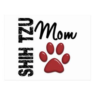 Shih Tzu Mom 2 Postcard
