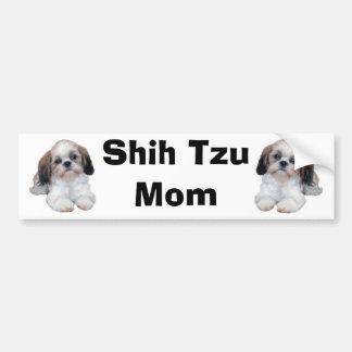 Shih Tzu Mom Bumper Sticker
