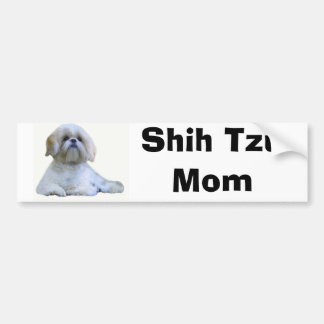 Shih Tzu Mom Bumper Sticker