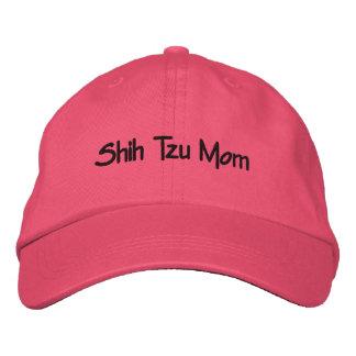 Shih Tzu Mom Embroidered Baseball Cap