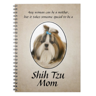 Shih Tzu Mom Notebook