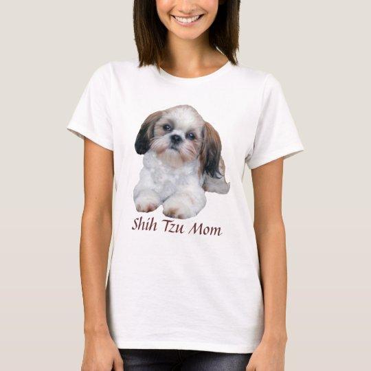 Shih Tzu Mum Ladies T-Shirt