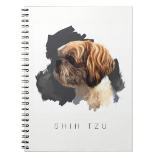 Shih Tzu Original Art Notebook