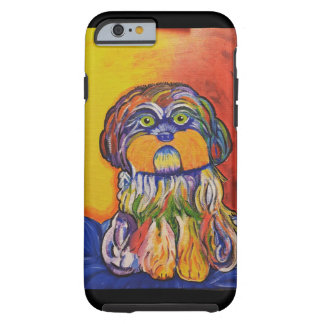 Shih Tzu phone art Tough iPhone 6 Case