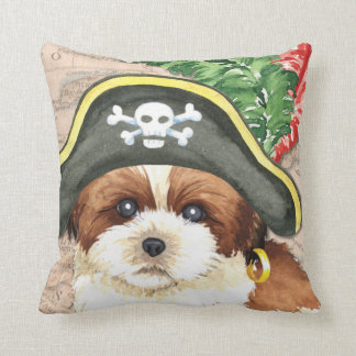 Shih Tzu Pirate Cushion