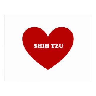 Shih Tzu Postcard
