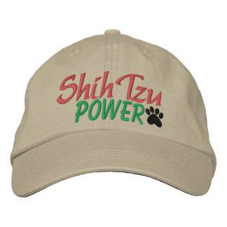 Shih Tzu Power by SRF Embroidered Baseball Caps