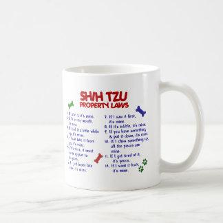 SHIH TZU Property Laws 2 Basic White Mug