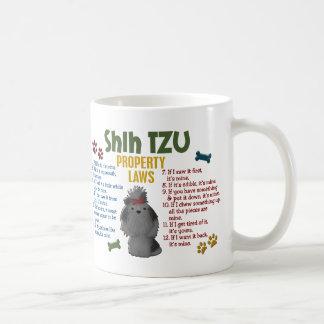 Shih Tzu Property Laws 4 Basic White Mug