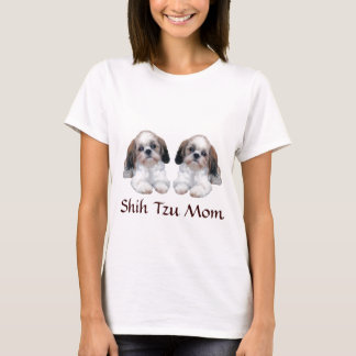 Shih Tzu Puppies Mom T-Shirt