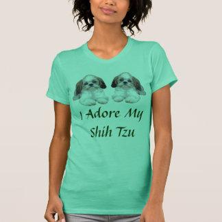 Shih Tzu Puppies T-Shirt Adore