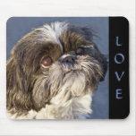 Shih Tzu Puppy  Love Mousepad